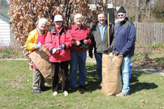 Volunteers in the Gardens